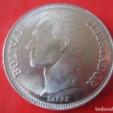Monedas antiguas de América: VENEZUELA. 5 BOLIVARES. 1989. Lote 91790225