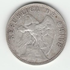 Monedas antiguas de América: CHILE- 1 PESO- 1895-PLATA. Lote 92050460