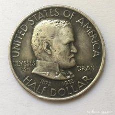Monedas antiguas de América: MEDIO DOLAR DE PLATA USA 1922 CONMEMORATIVA CENTENARIO ULYSSES GRANT. Lote 93136470
