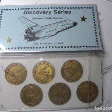 Monnaies anciennes d'Amérique: MONEDAS CONMEMORATIVAS DE LA SERIE DISCOVERY DE LA NASA. Lote 93612730