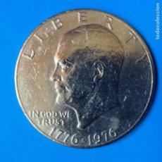 Monedas antiguas de América: ESTADOS UNIDOS 1 DOLAR (DOLLAR) CU-NI 1976 BICENTENARIO DE LOS EEUU. Lote 120347354