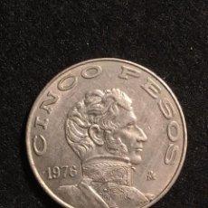 Monedas antiguas de América: 5 PESOS 1976 MEXICO. Lote 94331242