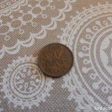 Monedas antiguas de América: CANADA 1 CENTIMO 1955. Lote 94498542