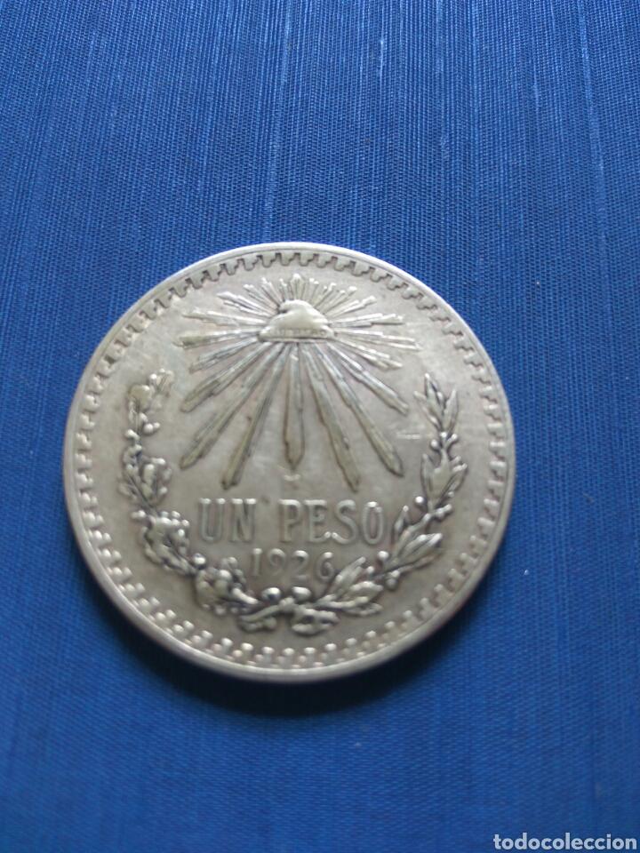 UN PESO PLATA 1926 MEXICO (Numismática - Extranjeras - América)