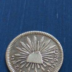 Monedas antiguas de América: UN REAL 1848 ZACATECAS. Lote 94583807