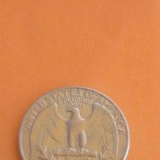 Monedas antiguas de América: 1/4 QUARTER DE DOLLAR 1967. Lote 94871516