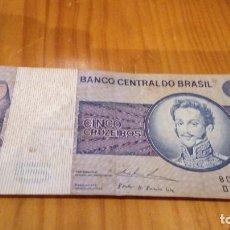 Monedas antiguas de América: 5 CRUZEIROS BRASIL . Lote 95072007