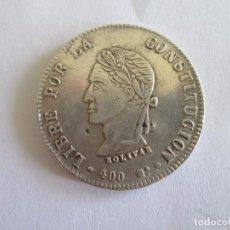Monedas antiguas de América: BOLIVIA * 8 SOLES 1863 * POTOSI * PLATA. Lote 95087543