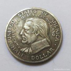 Monedas antiguas de América: MEDIO DOLAR DE PLATA USA 1936 CONMEMORATIVA DEL CENTENARIO DE CLEVELAND. Lote 95899895