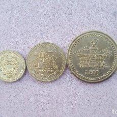 Monedas antiguas de América: 3 MONEDAS DEL PARQUE TEMATICO VENEZUELA. Lote 98851215