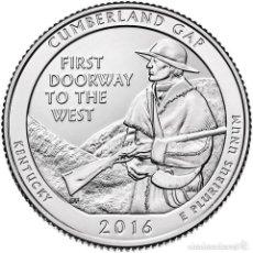 Monedas antiguas de América: ESTADOS UNIDOS / U.S.A ¼ QUARTER DOLLAR 2016 CUMBERLAND GAP ( KENTUCKY ) D. Lote 98883927