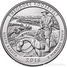 Monedas antiguas de América: ESTADOS UNIDOS / U.S.A ¼ QUARTER DOLLAR 2016 THEODORE ROOSEVELT ( DAKOTA DEL NORTE ) D. Lote 98885007