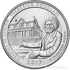 Monedas antiguas de América: ESTADOS UNIDOS / U.S.A ¼ QUARTER DOLLAR 2017 FREDERICK DOUGLASS ( COLUMBIA ) S. Lote 98886439