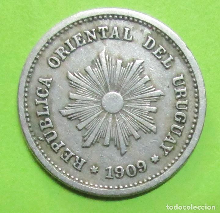 URUGUAY. MONEDA DE 1 CENTÉSIMO. 1909. (Numismática - Extranjeras - América)