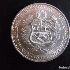 Monedas antiguas de América: PERÚ - 200 SOLES 1975 PLATA - KM#262 - HEROES DE LA AVIACIÓN NACIONAL. Lote 99083563