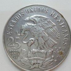 Monedas antiguas de América: MÉXICO PLATA 25 PESOS 1968 OLIMPIADAS. Lote 99505379