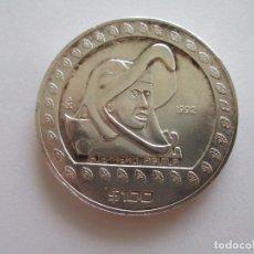 Monedas antiguas de América: MEXICO * 100 PESOS 1992 * 1 ONZA DE PLATA. Lote 99874155