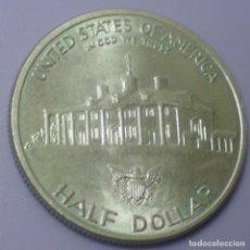 Monedas antiguas de América: MEDIO DÓLAR DE PLATA 0,900 ESTADOUNIDENSE (GEORGE WASHINGTON).EBC.. Lote 101153083