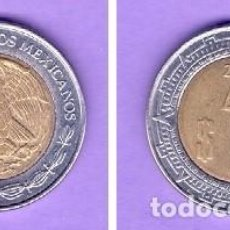 Monedas antiguas de América: 1 UN PESO MEXICANO MONEDA KM# 603 DEL AÑO 2005 CIRCULADA NUMISMÁTICA MÉXICO. Lote 101153275