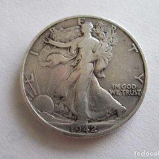 Monedas antiguas de América: ESTADOS UNIDOS * 1/2 DOLAR 1942-S * PLATA. Lote 101183307