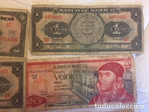 Monedas antiguas de América: LOTE DE BILLETES MEXICANOS USADOS - Foto 7 - 101572203
