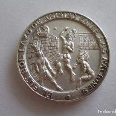 Monedas antiguas de América: MEDALLA * CAMPEONATO MUNDIAL DE FUTBOL 1970 MEXICO * PLATA. Lote 101629071
