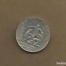 Monedas antiguas de América: MEXICO: 200 PESOS 1986. MUNDIAL DE FUTBOL. Lote 161603481