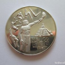 Monedas antiguas de América: MEXICO * MEDALLA CENTRAL DE NUMISMATICA 1968 * PLATA. Lote 101966267