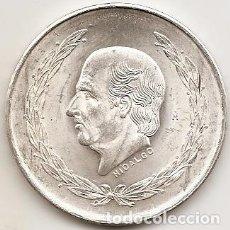 Monedas antiguas de América: MEJICO 1953. 5 PESOS HIDALGO DE PLATA. MONEDA TIPO DURO. Lote 102058171
