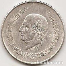 Monedas antiguas de América: MEJICO 1953. 5 PESOS HIDALGO DE PLATA. MONEDA TIPO DURO2. Lote 102058243