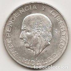 Monedas antiguas de América: MEJICO 1955. 10 PESOS HIDALGO DE PLATA.MBC+ O SC. MONEDA TIPO DURO. Lote 102063735