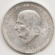 Monedas antiguas de América: MEJICO 1956. 10 PESOS HIDALGO DE PLATA.MBC+ O SC. MONEDA TIPO DURO. (2). Lote 102063971