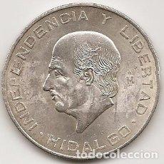 Monedas antiguas de América: MEJICO 1956. 10 PESOS HIDALGO DE PLATA.MBC+ O SC. MONEDA TIPO DURO. (3). Lote 102064035