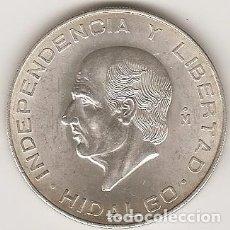 Monedas antiguas de América: MEJICO 1956. 10 PESOS HIDALGO DE PLATA.MBC+ O SC. MONEDA TIPO DURO. (4). Lote 102064119