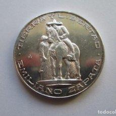 Monedas antiguas de América: MEXICO * MEDALLA EMILIANO ZAPATA * PLATA. Lote 102088799