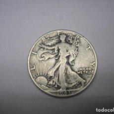 Monedas antiguas de América: USA. 1/2 DOLAR DE PLATA DE 1943 WALKING LIBERTY. . Lote 102161179
