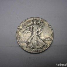 Monedas antiguas de América: USA. 1/2 DOLAR DE PLATA DE 1943 WALKING LIBERTY. . Lote 102162395
