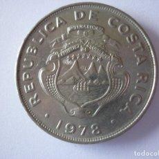 COSTA RICA, 1 COLON DE METAL DE 1978.
