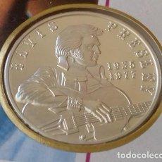 Monedas antiguas de América: BONITA CARTA NUMISMATICA NUMISBRIEF CONMEMORATIVA AL REY DEL ROCK ELVIS PRESLEY 1935-1977. Lote 103189515