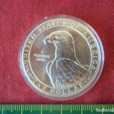 Monedas antiguas de América: 1 DOLLAR USA 1983 PLATA LEY 925 S/C . Lote 103295751