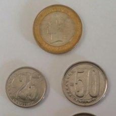 Monedas antiguas de América: LOTE 5 MONEDAS DEL ANTIGUO CONO MONETARIO QUE CIRCULÓ EN VENEZUELA DE 1999 A 2007 DISTINTOS VALORES. Lote 103628187