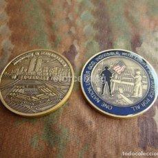 Monedas antiguas de América: MONEDA DE LA CONMEMORACIÓN DEL 11 DE SETIEMBRE EL ATENTADO CONTRA LAS TORRES GEMELAS.. Lote 104033819