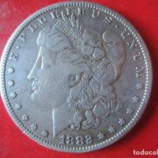 Monedas antiguas de América: ESTADOS UNIDOS. 1 DÓLAR DE PLATA.1882. Lote 104059927