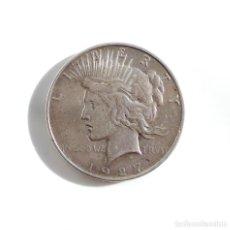 Monedas antiguas de América: AMERICA.- USA 1 DÓLAR PEACE 1927 FILADELFIA - PLATA. Lote 104062335
