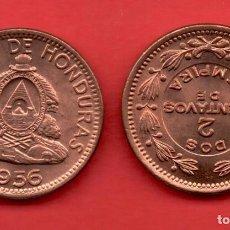 Monedas antiguas de América - HONDURAS - 2 CENTAVOS 1956 SC - 104099591
