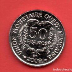 Monedas antiguas de América: WEST AFRICAN STAES - 50 FRANCS 2002 SC KM6. Lote 104513399
