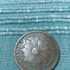 Monedas antiguas de América: RAROS 4 CENTESIMOS 1869 URUGUAY. Lote 104799894