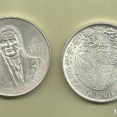 Monedas antiguas de América: PLATA-MEXICO 100 PESOS 1978. 27,77 GRAMOS LEY 0.720. Lote 104948435
