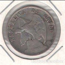 Monedas antiguas de América: MONEDA DE 20 CENTAVOS DE CHILE DE 1919. PLATA. BC- (ME959). Lote 105188835