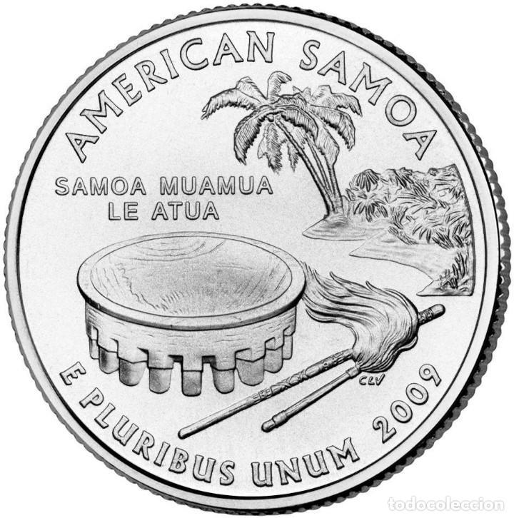 ESTADOS UNIDOS / U.S.A ¼ QUARTER DOLLAR 2009 AMERICAN SAMOA P (Numismática - Extranjeras - América)